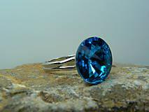 Prstene - Prsteň s krištálom - 8749717_