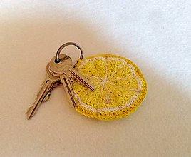 Kľúčenky - žltý grep - 8749479_