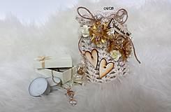 Svietidlá a sviečky - Svietnik - ZLATÝ KVET - 8747084_