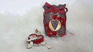 Svietidlá a sviečky - Svietnik - HORÚCA LÁSKA - 8747416_
