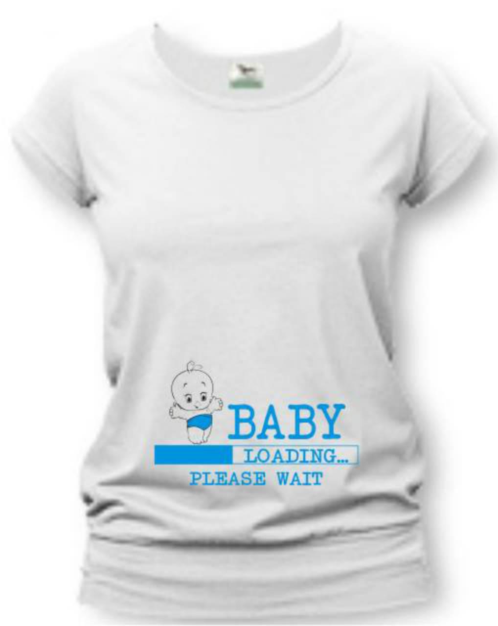 05f79ae1afef ... Tehotenské oblečenie - Baby loading - tehotenské tričko - 8748835  ...