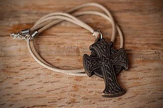 Náhrdelníky - Keltský kríž - 8745308_
