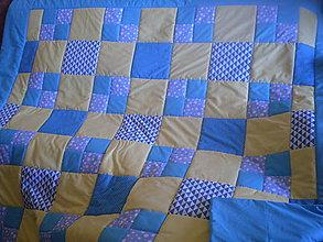 Úžitkový textil - deka pre Alžbetku - 8745410_