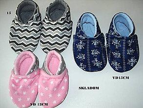 Topánočky - capačky skladom - 8745309_