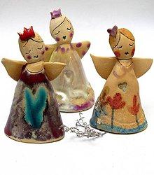 Dekorácie - anjel   princezná - 8746225_