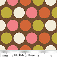 Rukavice - rukávniky na bicykel (farebné body na hnedej) - 8749711_