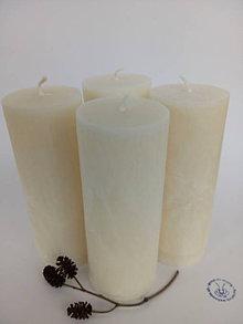 Svietidlá a sviečky - Adventné sviečky 10 cm - 8745473_
