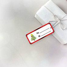 Papiernictvo - Vianočná menovka - 8747201_