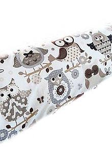 Úžitkový textil - HAJA & SoVKy z Francúzska Obojstranné... bočný vankúš... 170x35 cm - 8753729_
