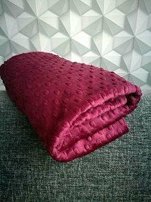 Textil - Minky - CUDDLE DIMPLE® Grape - 8751857_