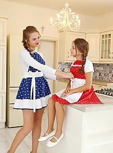 Detské oblečenie - zásterka mini Slovenka - 8750756_
