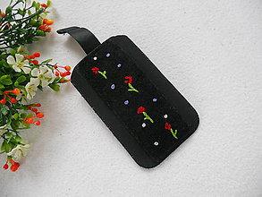 Na mobil - Kvetinky, samé kvetinky (púzdro na mobil) - 8751713_