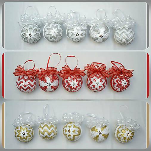 a5f20e052 Vianočné patchworkové gule na stromček / MichaelaJelenek - SAShE.sk ...