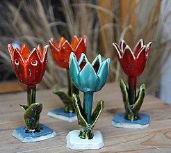 Dekorácie - tulipán modrý - 8754493_
