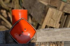 Mydelnička oranžová  set