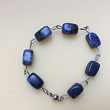 Náramky - náramok s modrým sodalitom - 8753155_