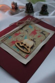 """Papiernictvo - Vianočná pohľadnica """"čaro domova"""" - 8752587_"""
