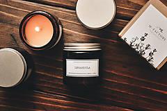 Svietidlá a sviečky - Amber - Levanduľa 100% prírodná - 8754730_