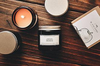 Svietidlá a sviečky - Amber - Jablko, Škorica - 8754701_