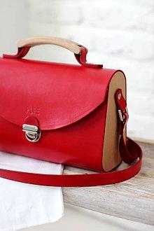 Kabelky - Kabelka na rameno SATCHEL BAG RED - 8751905_