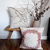 Úžitkový textil - Vankúš - smrekovec opadavý - 8751169_