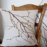 Úžitkový textil - Vankúš - smrekovec opadavý - 8751170_