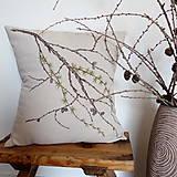 Úžitkový textil - Vankúš - smrekovec opadavý - 8751177_