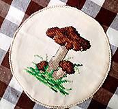 Úžitkový textil - Pytlíček na sušené hříbky. - 8754116_