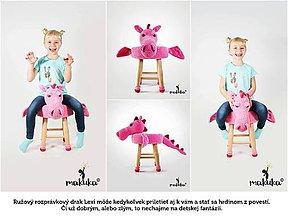 Úžitkový textil - Drak Lexi - 8751243_