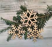 - Vianočné ozdoby Vločky - 8751442_