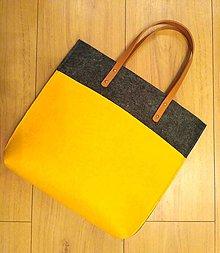 Kabelky - Športová filcová taška \