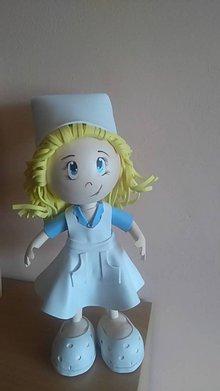 Bábiky - Personalizovaná bábika - zdravotná sestra - 8753580_