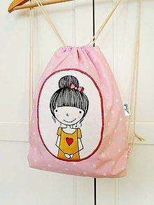 Detské tašky - Len ja a môj svet - ružový batôžtek - 8751090_