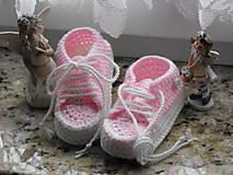 Topánočky - trampky 8- 12 cm - 8750535_