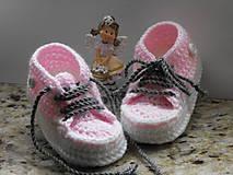 Topánočky - trampky 8- 12 cm - 8750536_