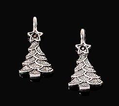 Komponenty - Prívesok vianočný stromček - 8754672_