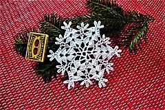 - Veľké háčkované vianočné hviezdy - 8751055_