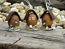 - Vianočné orieškové domčeky a búdky - 8756157_