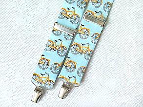 Doplnky - Retro gentleman suspenders (I love bicycles) - 8756429_