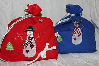 Detské tašky - Mikulášske vrecúška - 8756273_