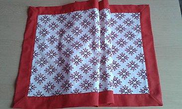Úžitkový textil - Vianočný stredový obrus - 8757782_