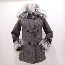 Kabáty - Kabát s vyšivanými rukávmi - 8755858_