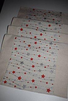 Úžitkový textil - VÁNOČNÍ BĚHOUN ...38 X 134 CM - 8758164_