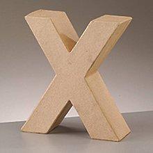 Polotovary - Papierové písmeno X - 8756186_