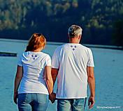Tričká - Dámske a pánske tričká, párové, maľované, folk SPIEVANKY - 8756148_