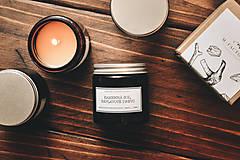 Svietidlá a sviečky - Amber - Kamenná soľ, Náplavové drevo - 8756203_