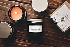 Svietidlá a sviečky - Amber - Ylang-Ylang, Zázvorová ľalia 100% prírodná - 8756206_
