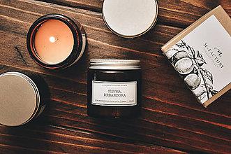 Svietidlá a sviečky - Amber - Slivka, Rebarbora - 8756259_