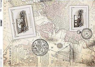 Papier - Ryžový papier R035L     A3 - 8760086_