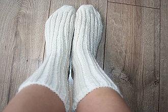 Obuv - Vlnené ponožky - 8757988_